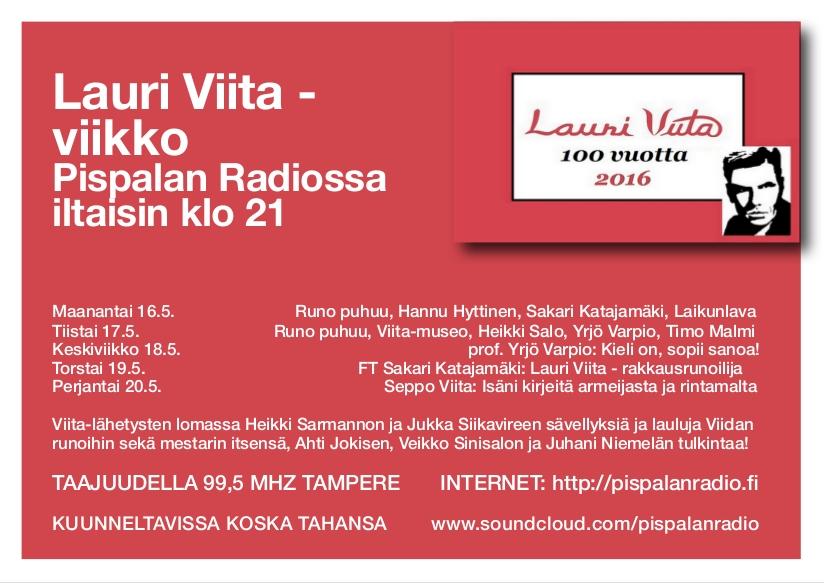 Viita-viikko Pispalan Radio